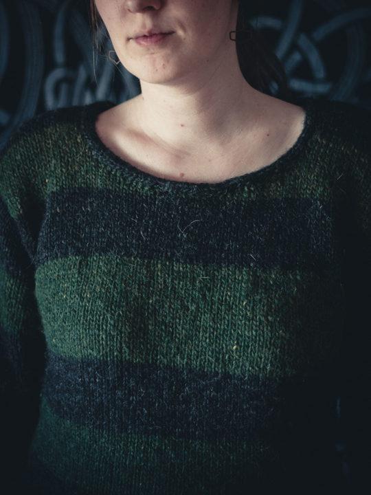 0421 stripe sweater 0010