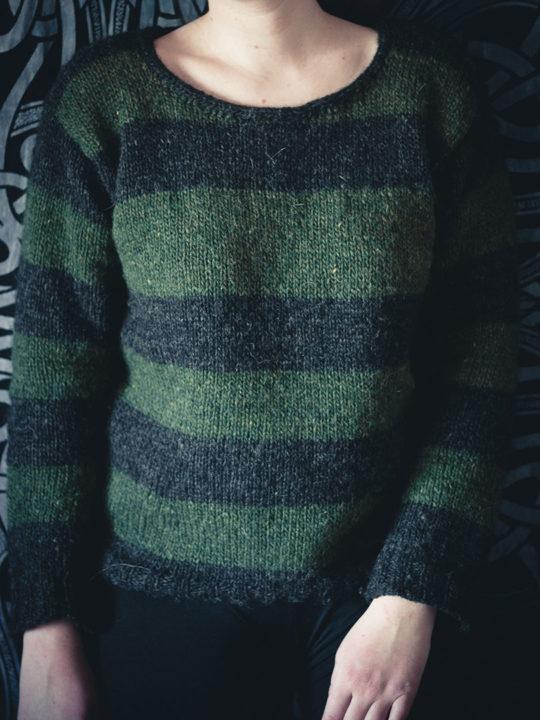 0421 stripe sweater 0011