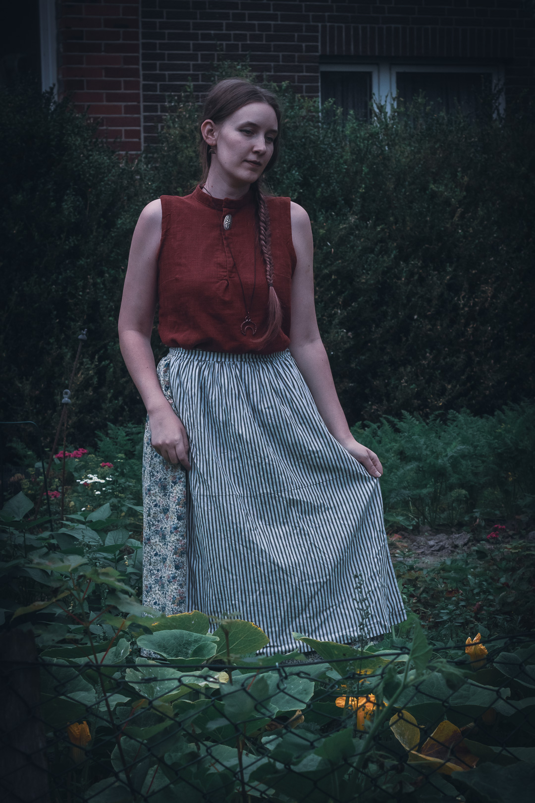 Outfit - Kürbishexe